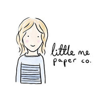 Little Me offers whimsical custom portraits,  watercolour wedding invitations, charmingly cheeky greeting cards and other lovely paper goods.