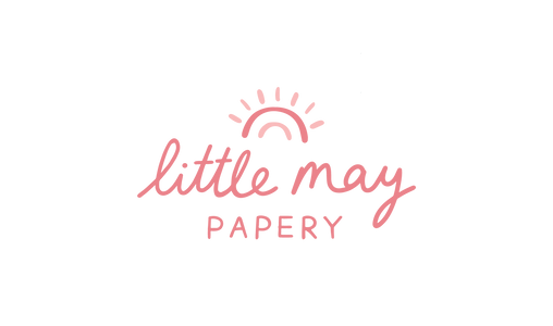 Little May offers playful greeting cards,  accessories +  other lovely paper goods.