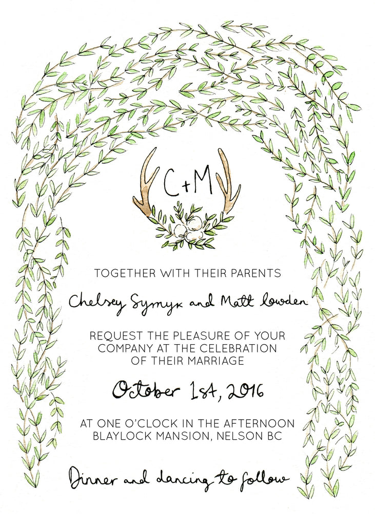 Semi-Custom Wedding Stationery {Coming Soon}