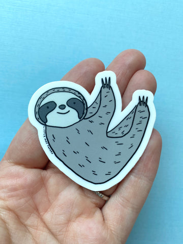 Sloth Vinyl Sticker