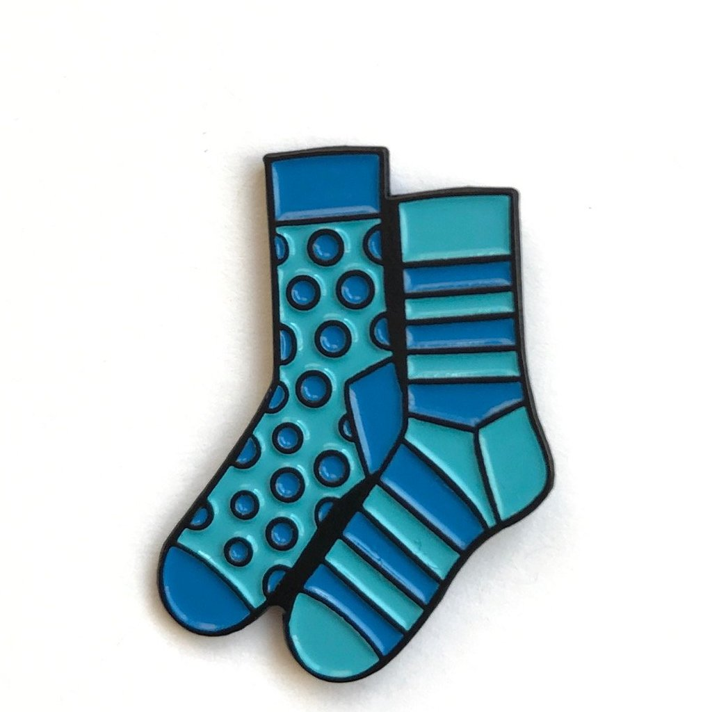 Mismatched Sock Pin