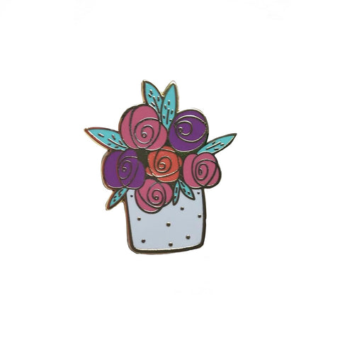 ReBloom Enamel Pin