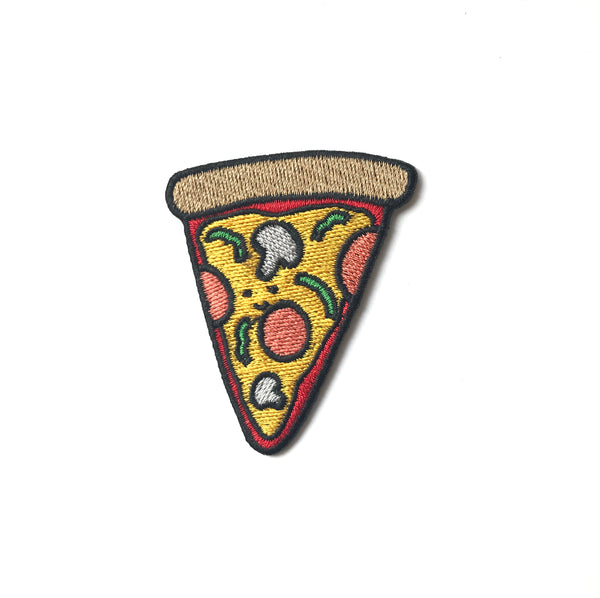 Pizza Iron On Patch