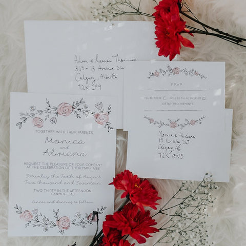 The Abriana Invitation + RSVP