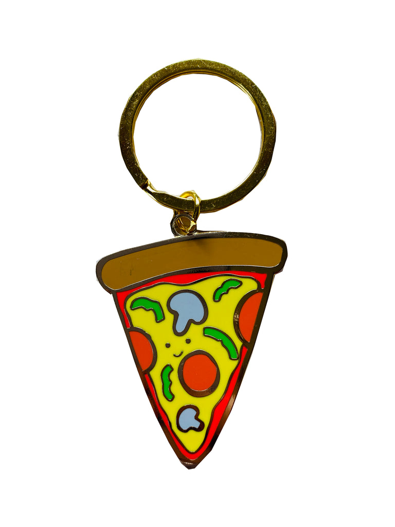 Pizza Key Chain *new + improved*
