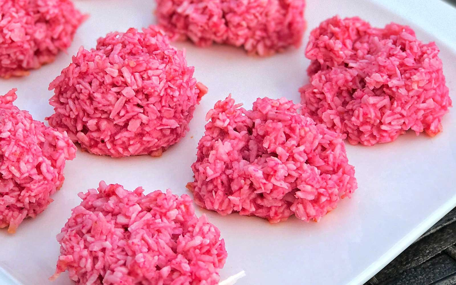 Cherry Protein Macaroons