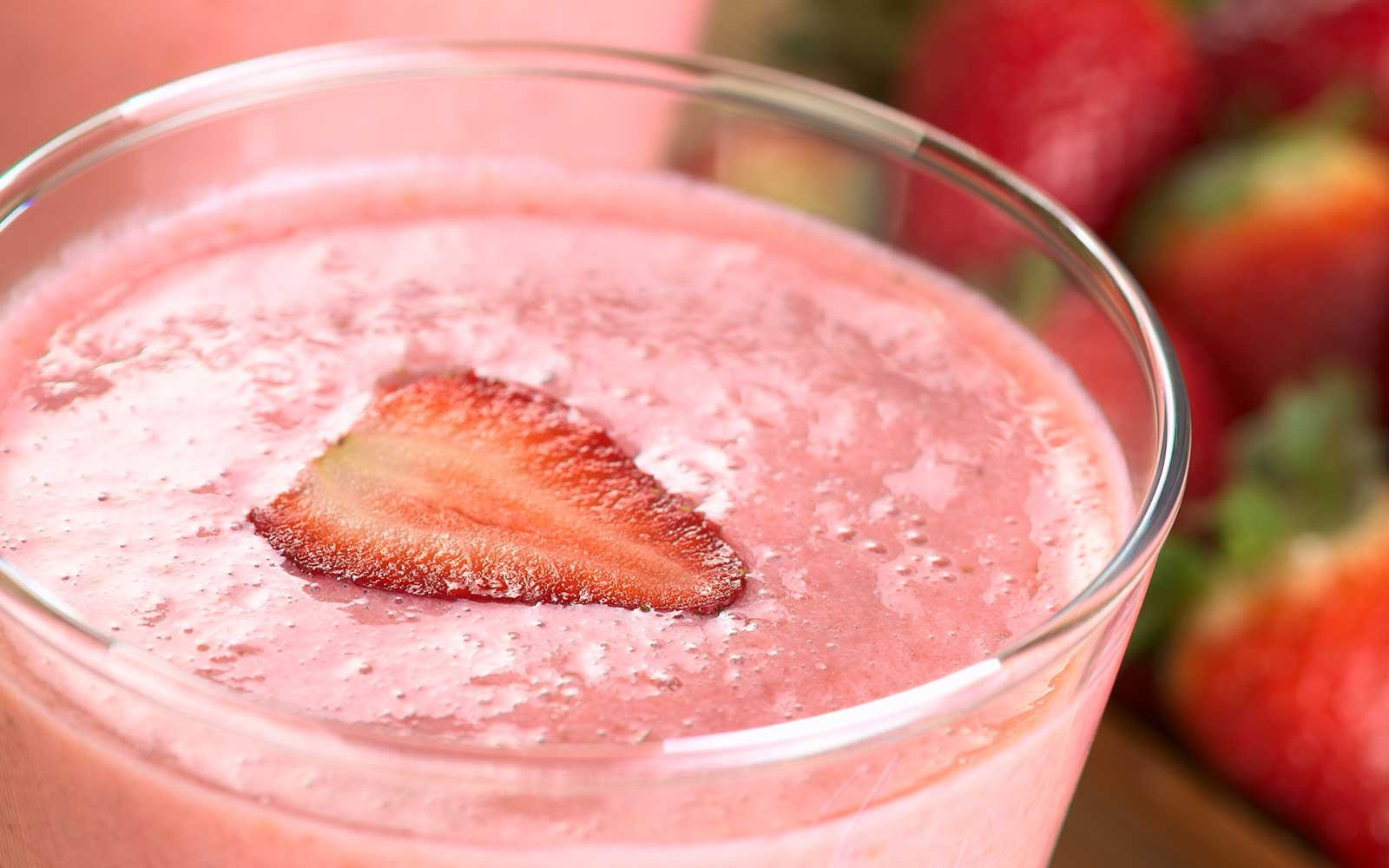 Strawberry Milkshake Smoothie