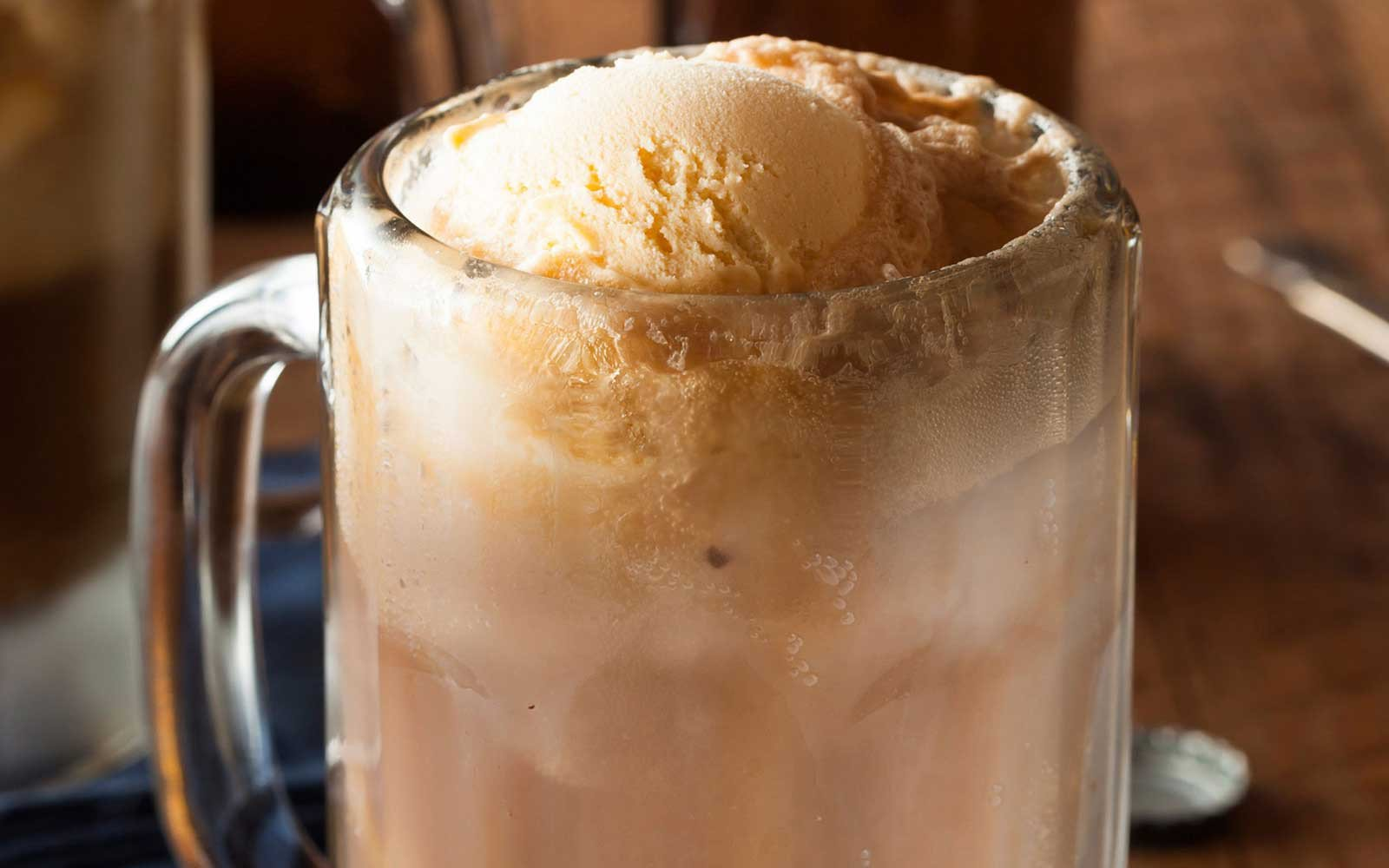 Old Fashioned Sugar Free Root Beer Protein Float