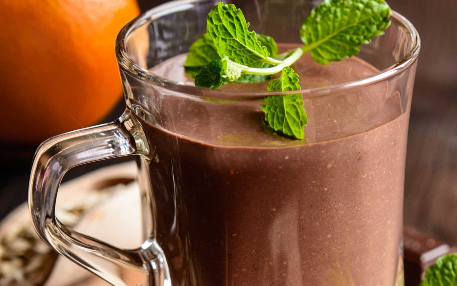 Terry's Sugar Free Chocolate Orange Protein Smoothie