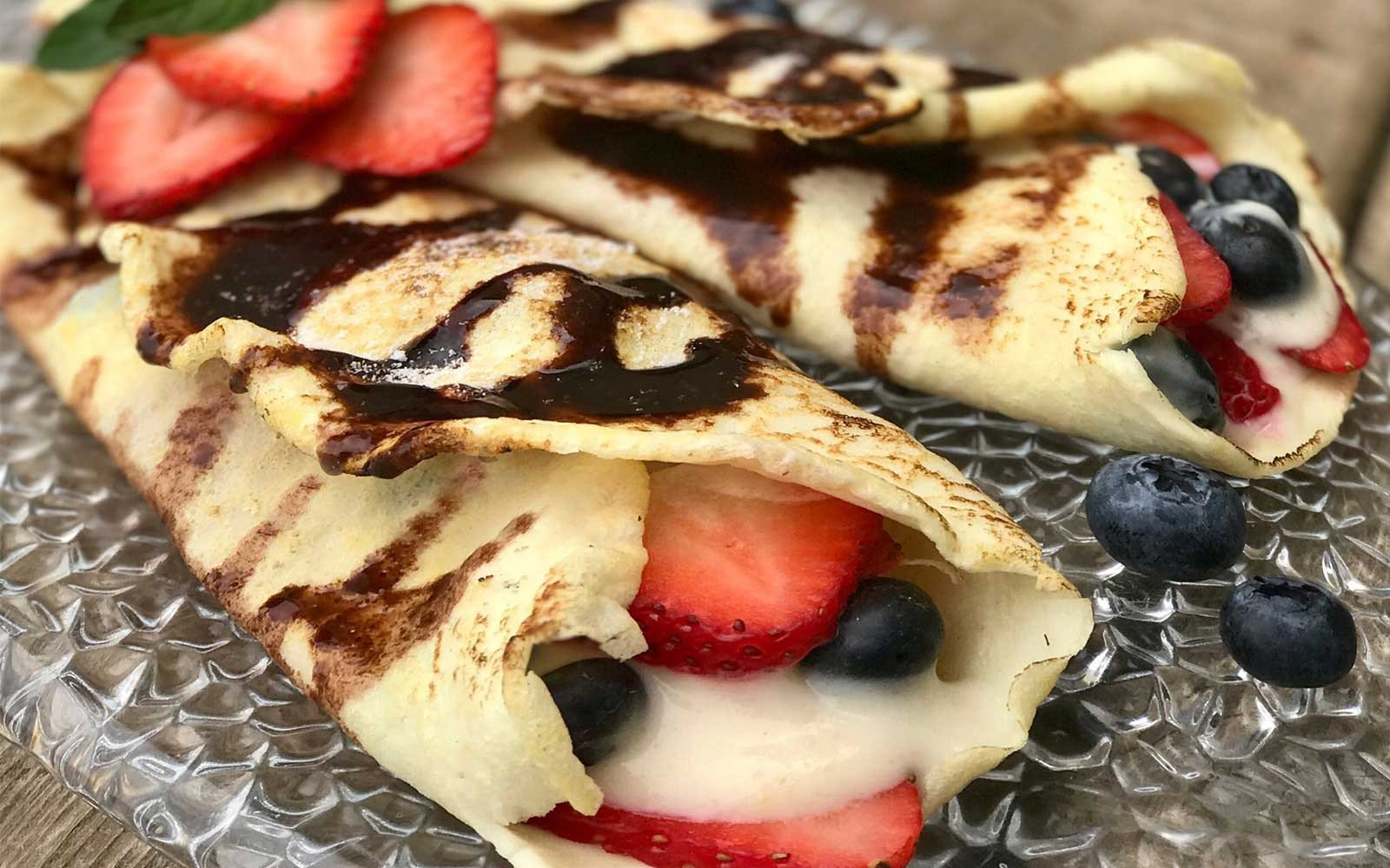 Quick and Easy Three Ingredient Low Carb Protein Crepes
