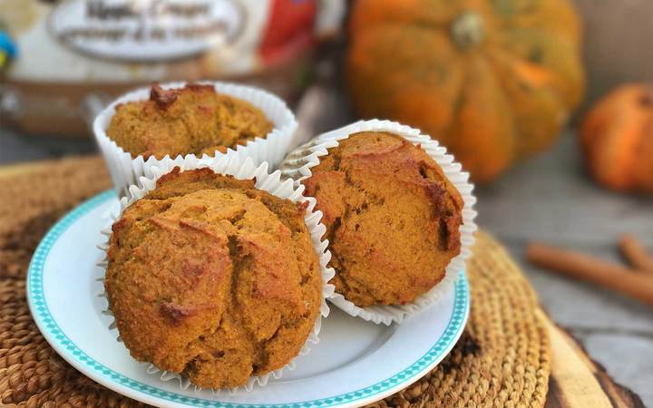Perfect Protein Pumpkin Spice Muffins