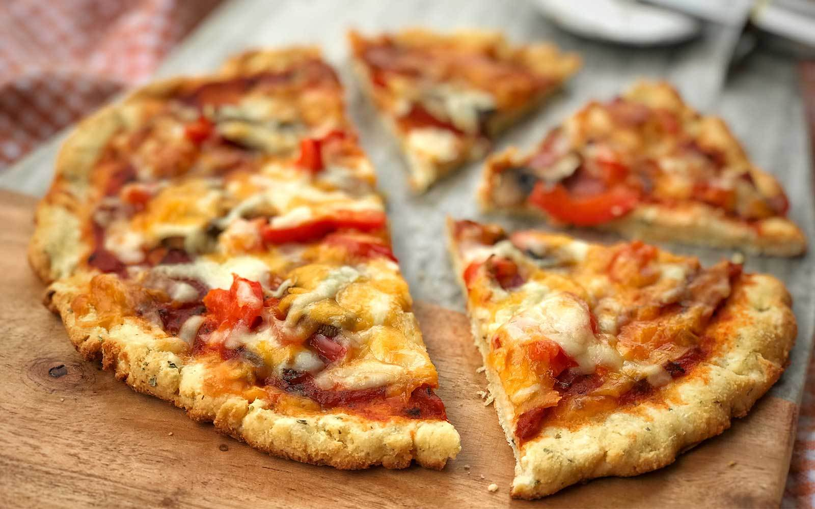 Traditional Crispy Protein Pizza Crust