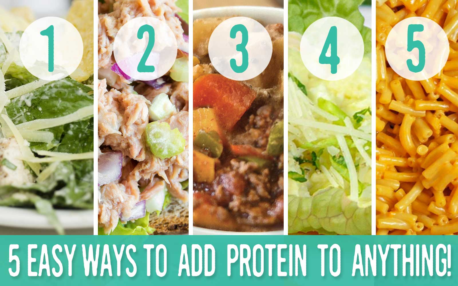 Five Easy Ways To Add Protein