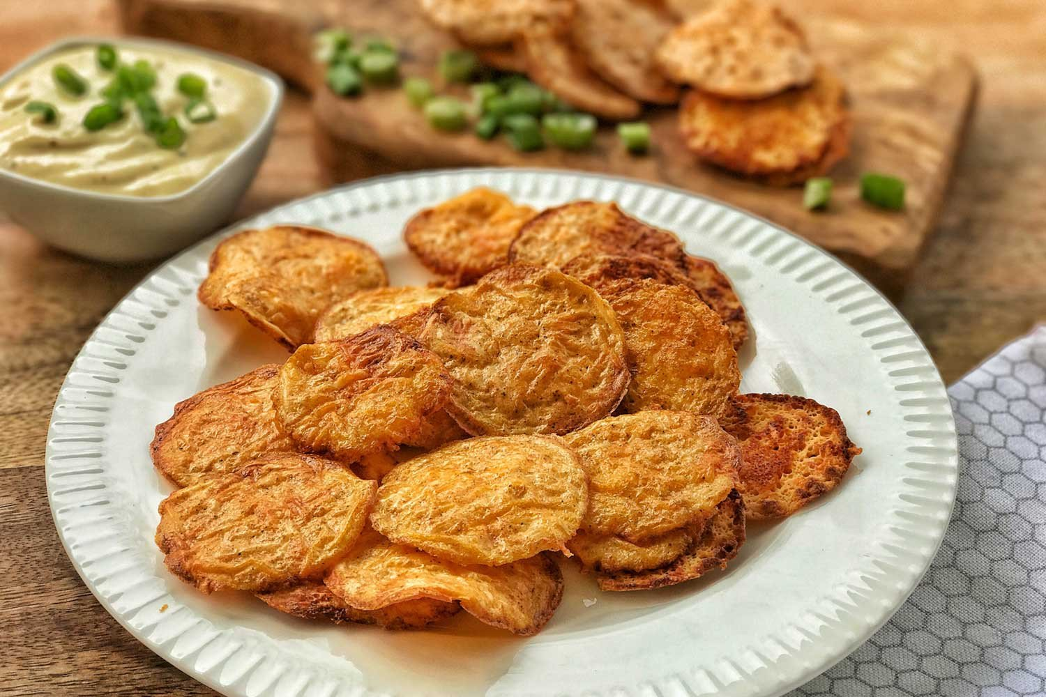 Low Carb Crispy Protein Chips