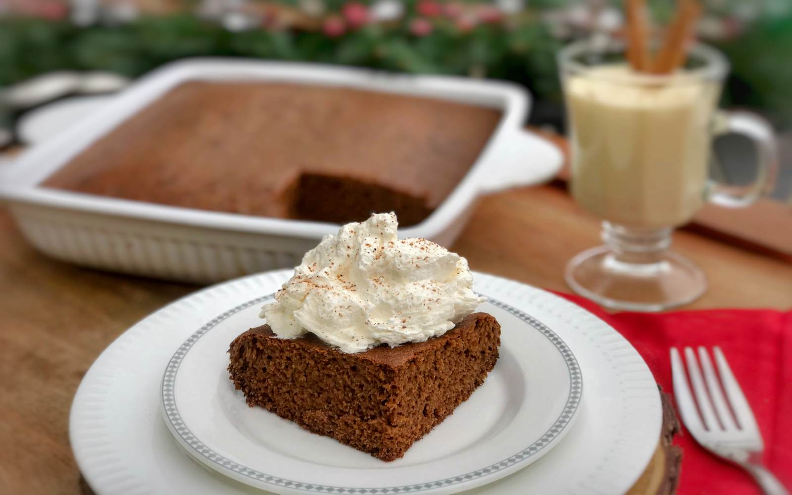 Classic Holiday Gingerbread