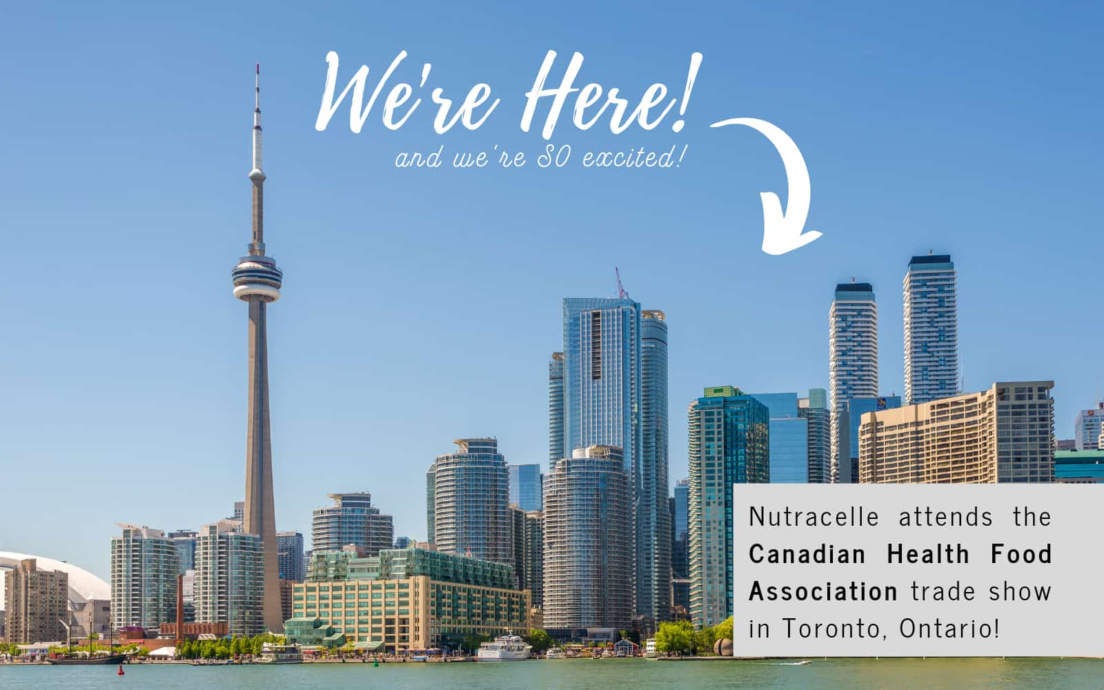 Nutracelle Attends the Canadian Health Food Association Trade Show