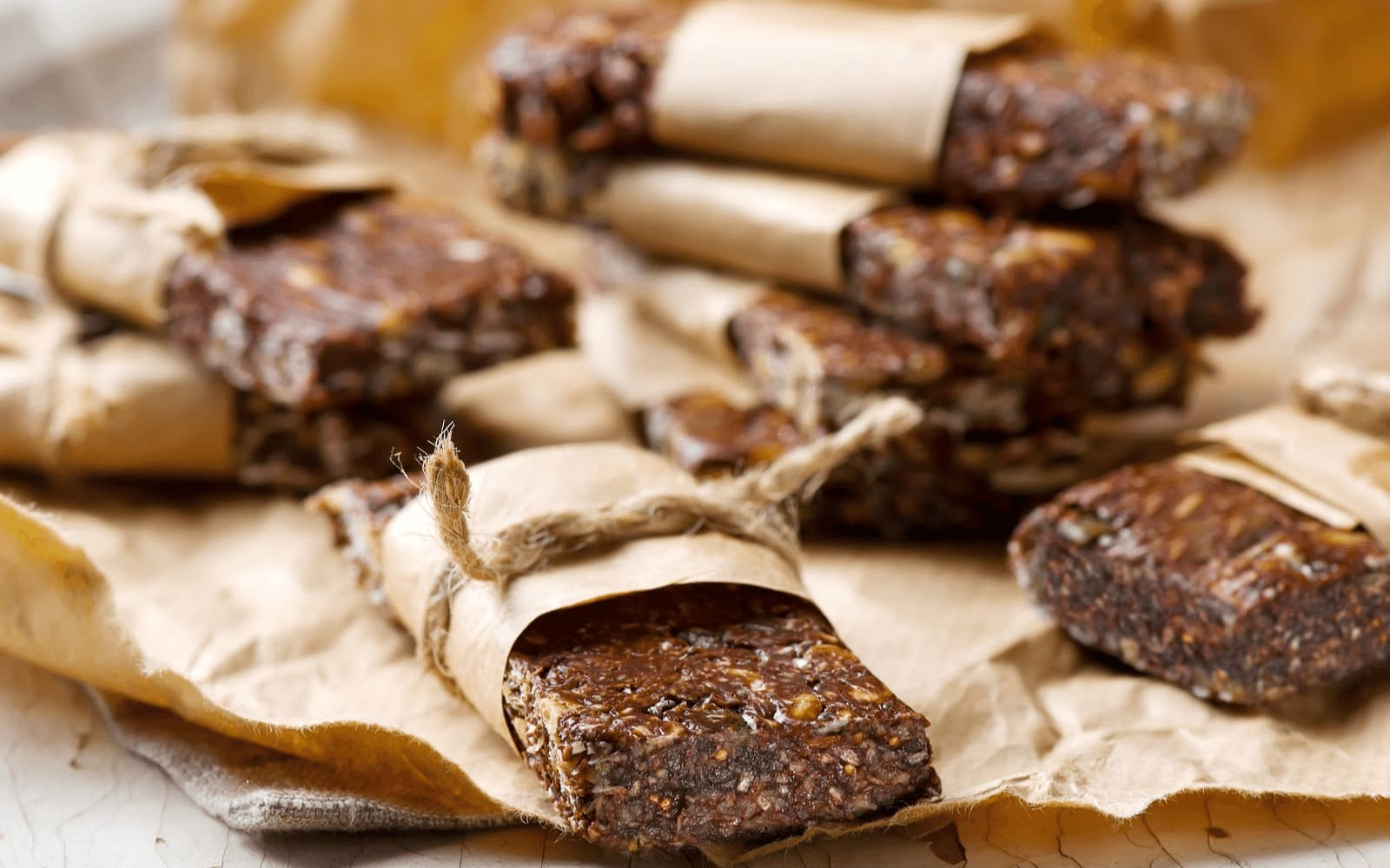 VEGAN: Chocolate Protein Bars