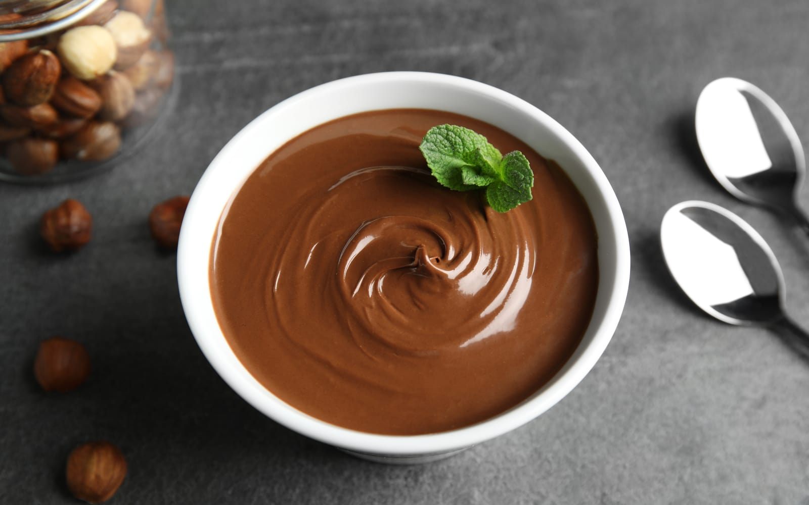 Vegan Chocolate Mint Protein Pudding