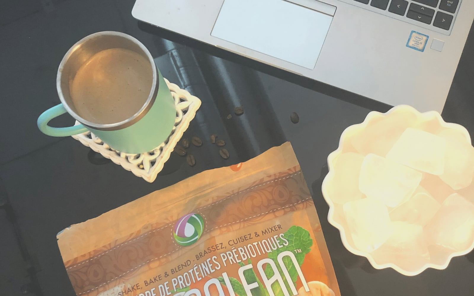 My Favourite Afternoon Pick Me Up Salted Caramel Nutralean Nutracelle