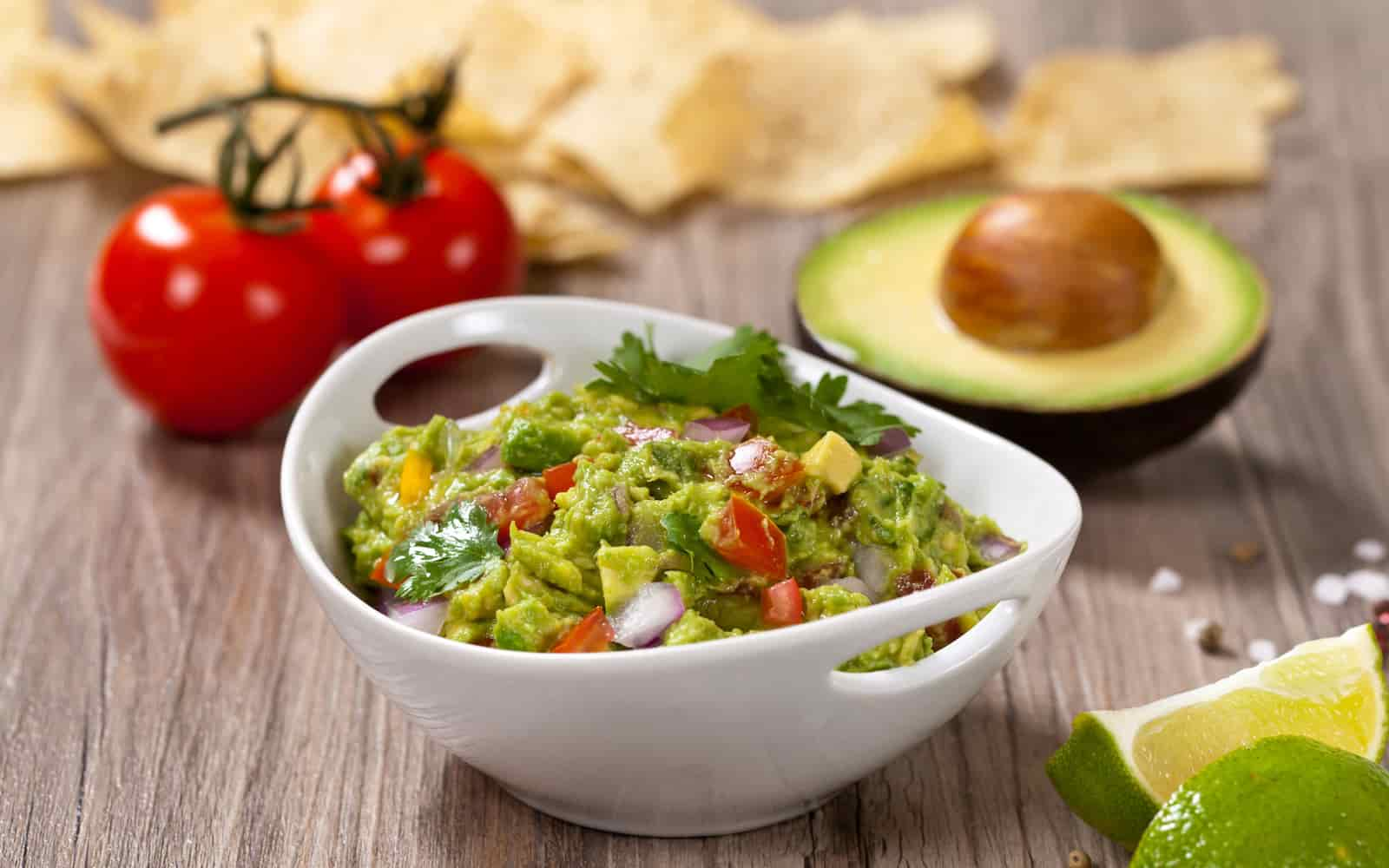 Creamy Low Carb Guacamole