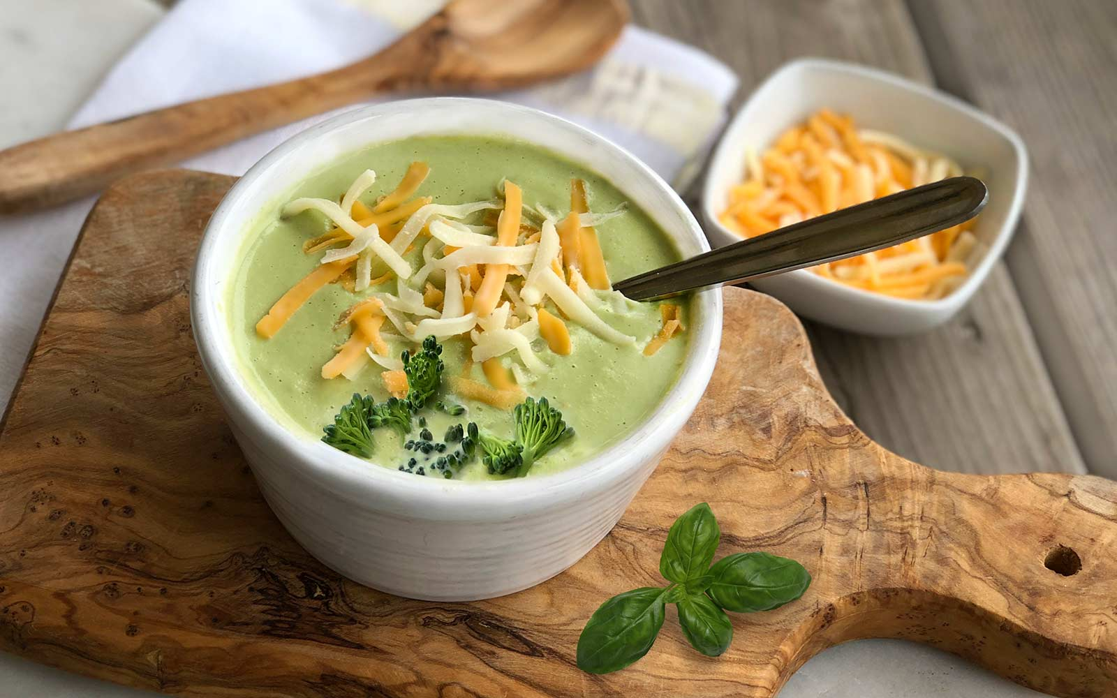 Hearty & Healthy Creamy Protein Broccoli Soup