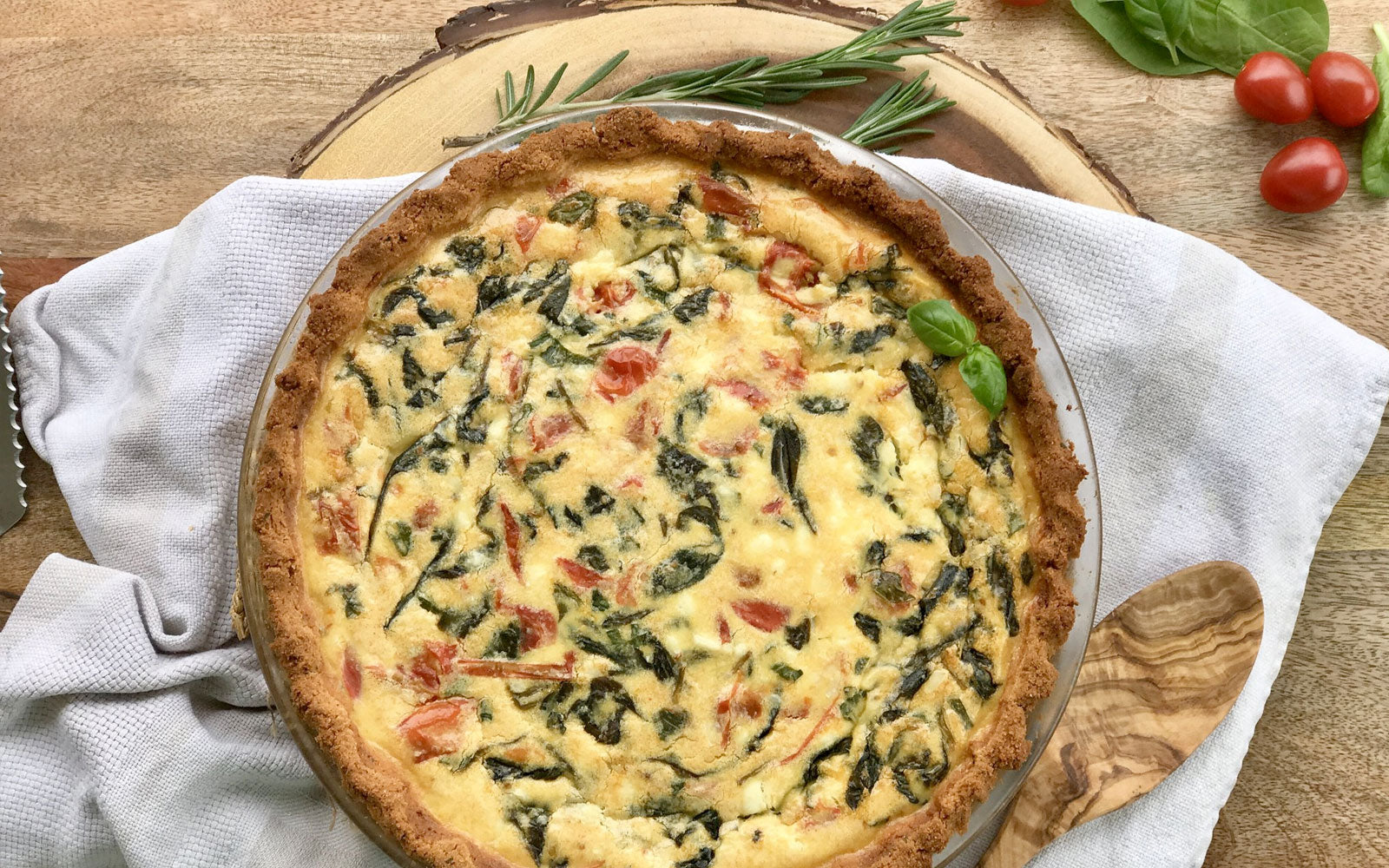 Out Of This World Quiche