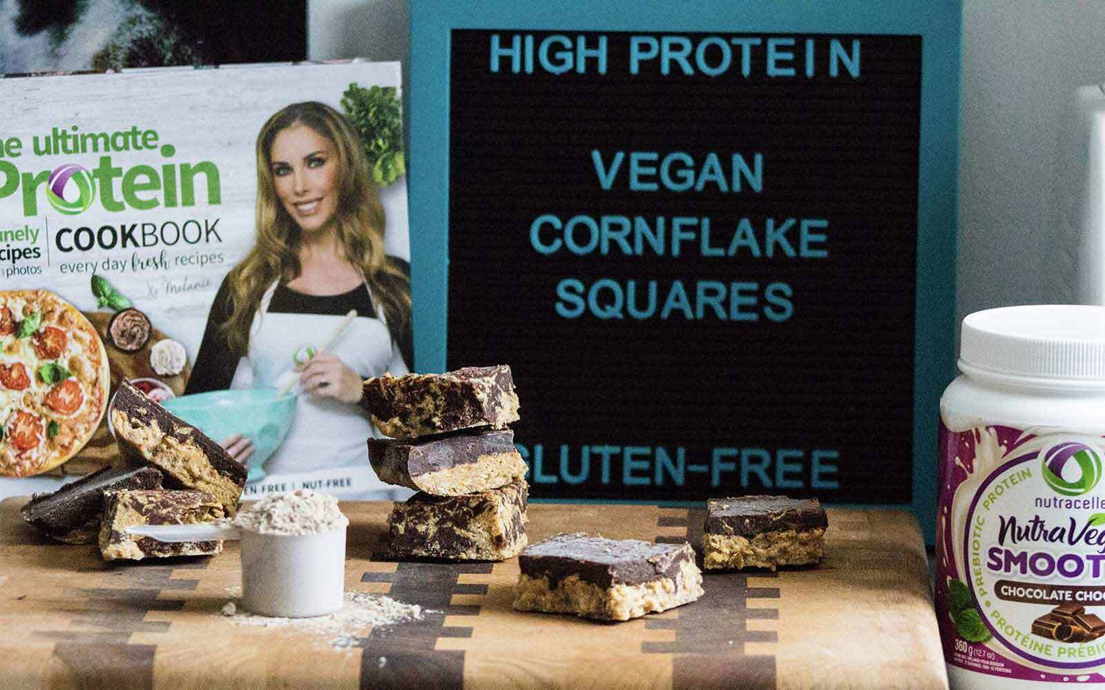 No-Bake Vegan Chocolate Cornflake Squares