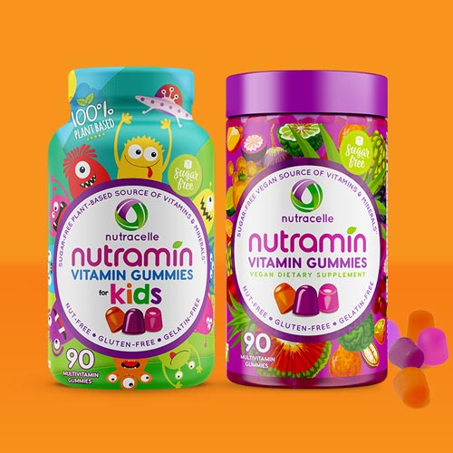 Nutramin Vegan Sugar Free Gummies