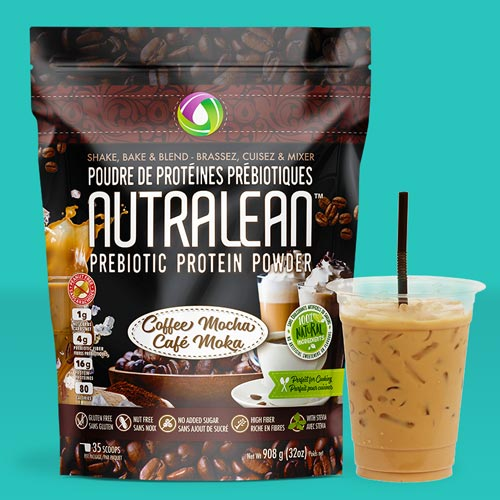 Nutralean prebiotic protein powder