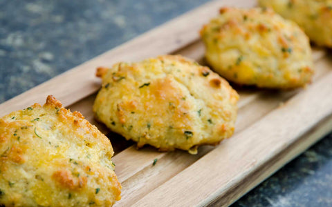 Healthy cheese biscuits
