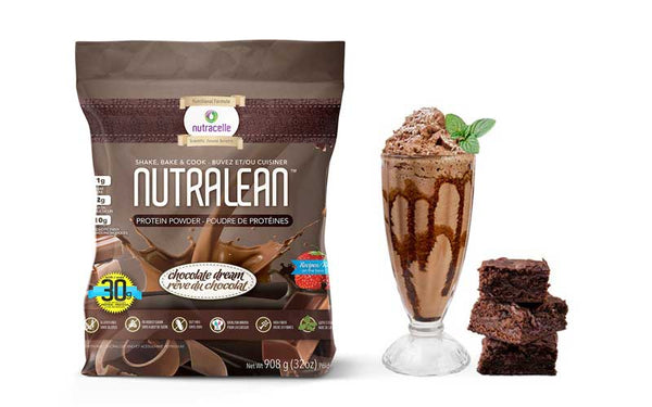Chocolate Dream Nutracelle Nutralean Shake Brownies