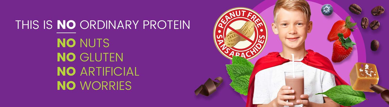 Nut Free and Allergen Free Protein Powder | Nutracelle