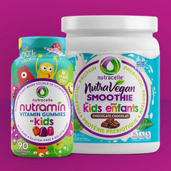 Nutrakids nutravegan and nutramin gummies