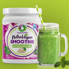 Nutravegan plant based protein smoothie