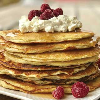 bake with nutracelle pancakes