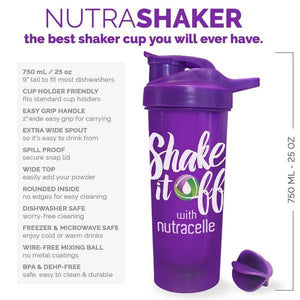 3 Original NutraShake Shaker Cup Bundle 750 mL
