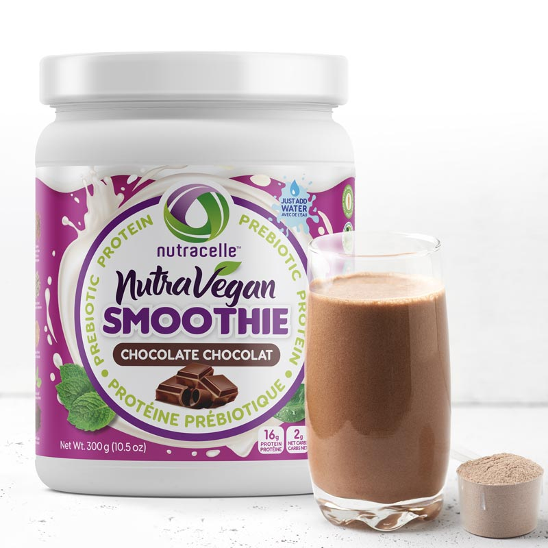 NutraVegan Protein Smoothie - Chocolate