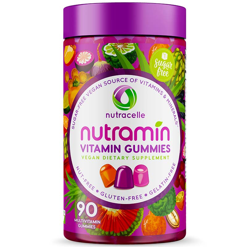 Nutramin Adult Multi Gummies Sugar-Free & Vegan
