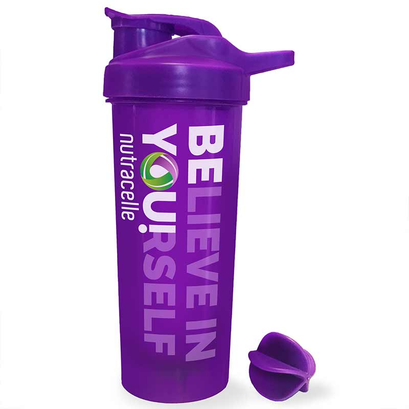 NUTRASHAKER Protein Shaker Bottle | Believe In Yourself | 750 mL