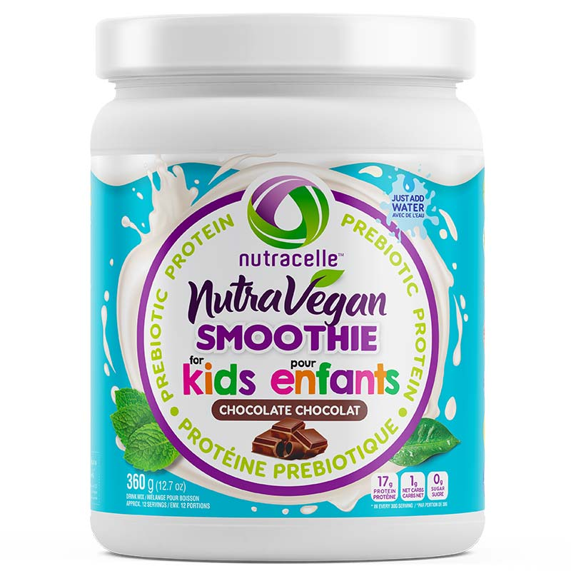 NutraVegan Kids Protein Smoothie - Chocolate