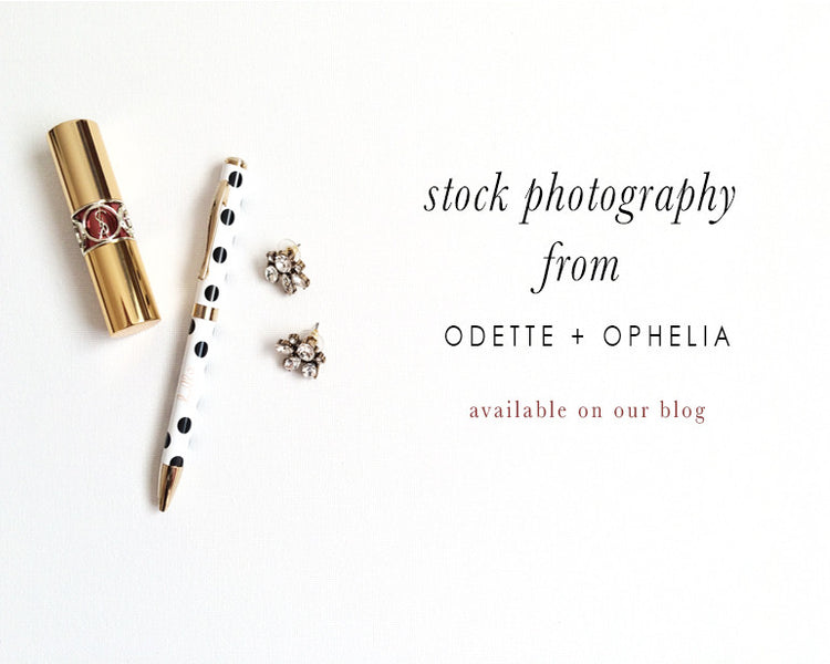 Styled Stock Photography from odette + ophelia
