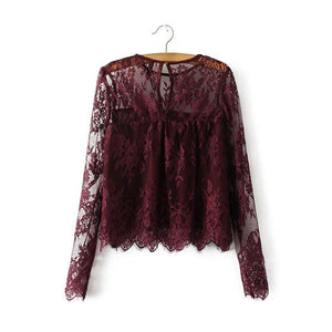 Lace Blouse - odette + ophelia