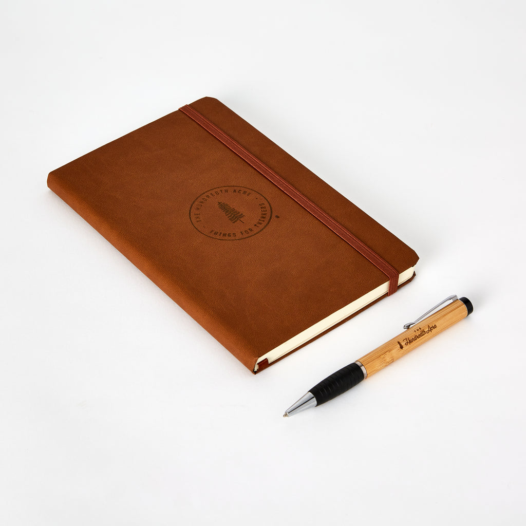 "The Hundredth Acre ""Things for Thinkers"" Journal / Pen Set"