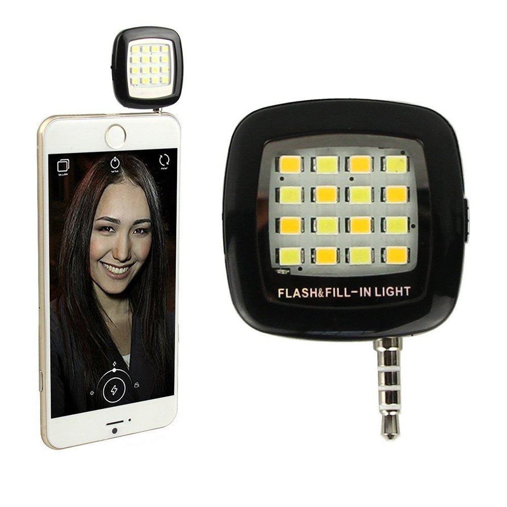 Universal Selfie Dimmable Flash Cell Phone...
