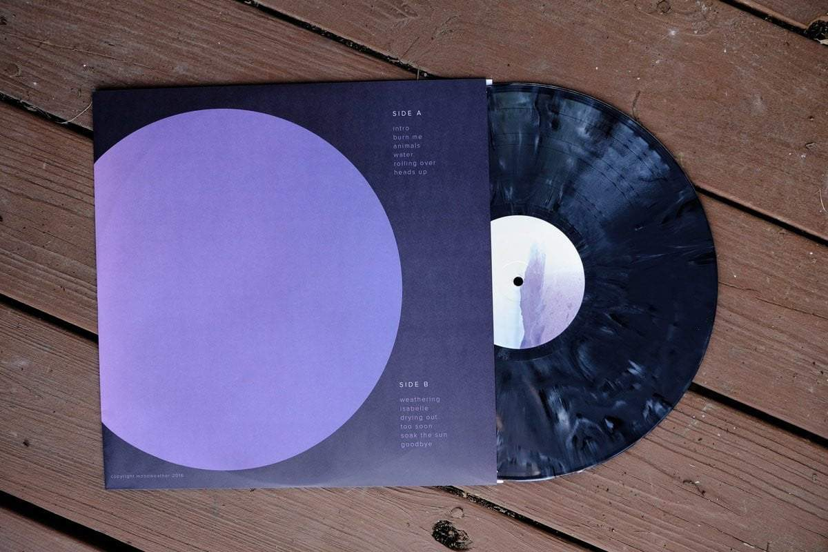 moonweather - sit down be small LP - VINYL MOON