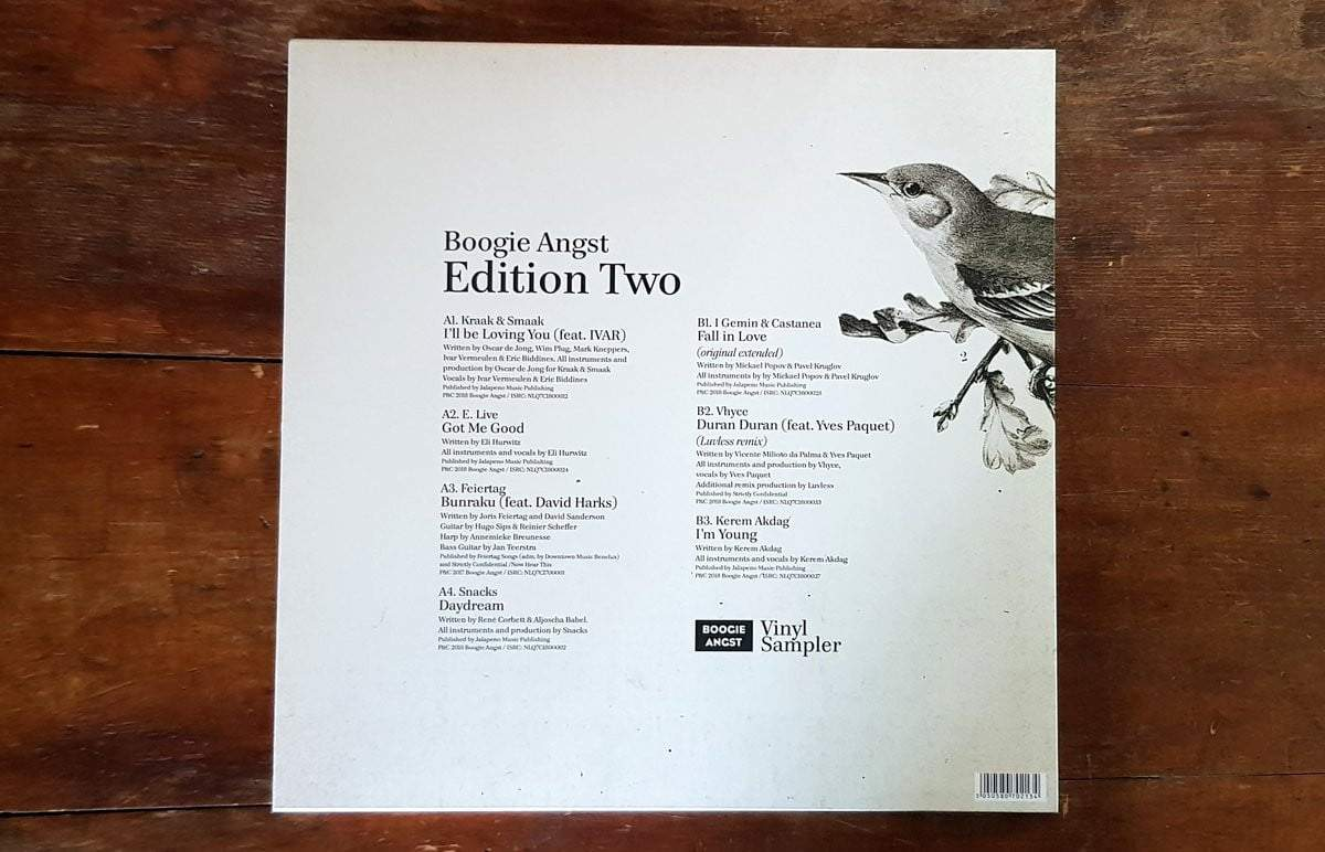 Boogie Angst - Edition Two LP