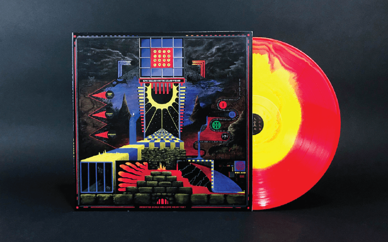 King Gizzard & the  Lizard Wizard - Polygondwanaland - VINYL MOON