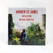 "Andrew St. James 7″ – ""You'll Be Fine"" / ""Red Hair, Green Eyes"" - VINYL MOON"