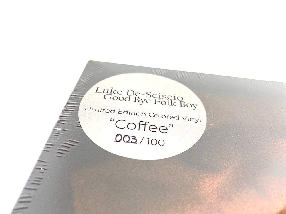 Luke De-Sciscio - Good Bye Folk Boy (Coffee vinyl) [VM Edition - Ltd. to 100] - VINYL MOON