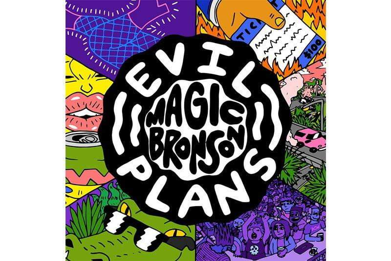 Magic Bronson - Evil Plans LP - VINYL MOON